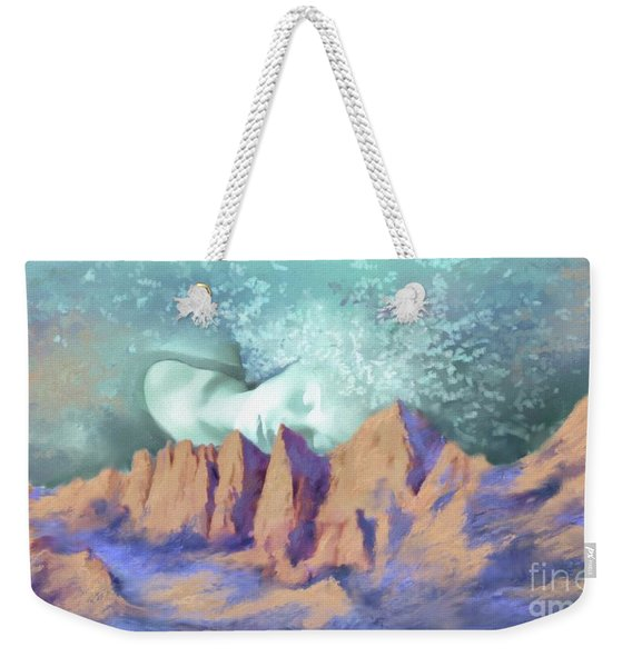 A Breath Of Tranquility Weekender Tote Bag