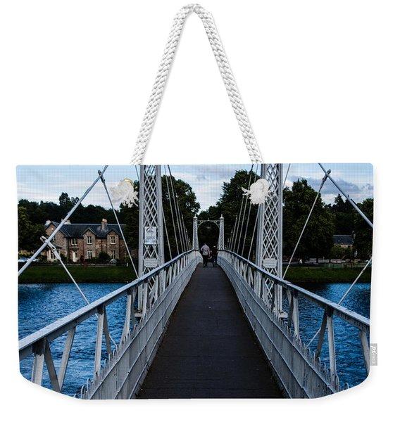 A Bridge For Walking Weekender Tote Bag