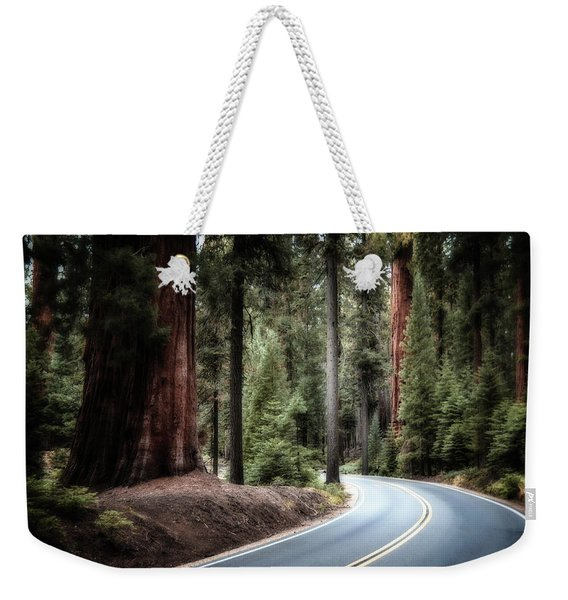 A Bright Future Around The Bend Weekender Tote Bag