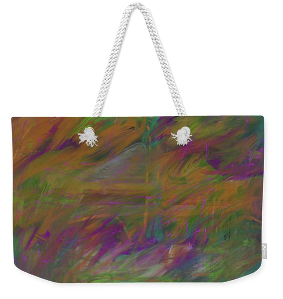 A Brush With The Edge Weekender Tote Bag