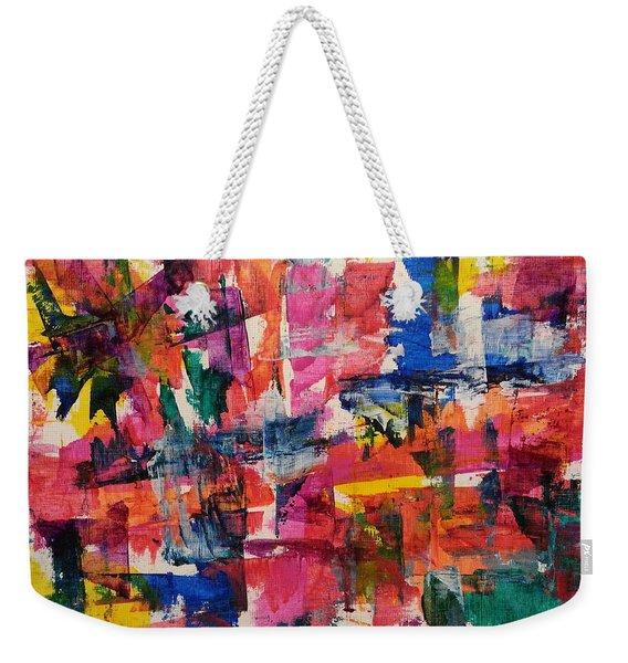 A Busy Life Weekender Tote Bag