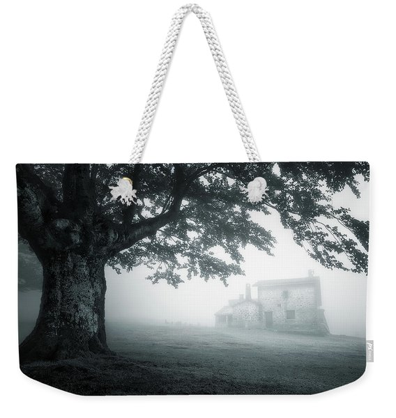 A Cabin In The Woods Weekender Tote Bag