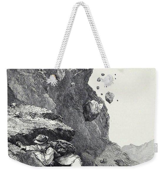 A Cannonade On The Matterhorn Weekender Tote Bag