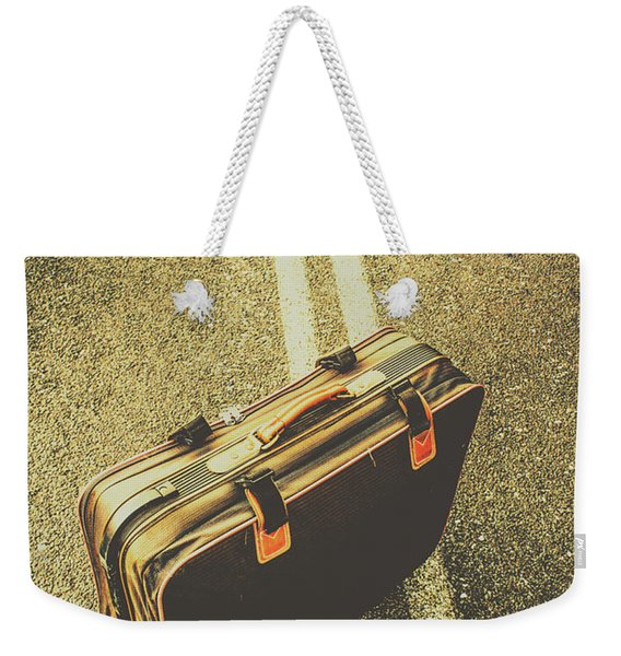 A Case For Adventure Weekender Tote Bag