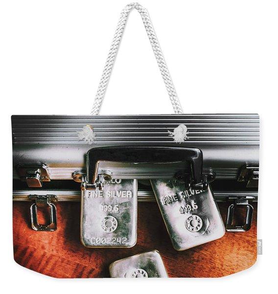A Case For Precious Metals Weekender Tote Bag
