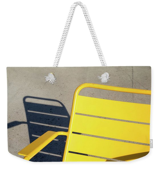 A Chair And Its Shadow Weekender Tote Bag
