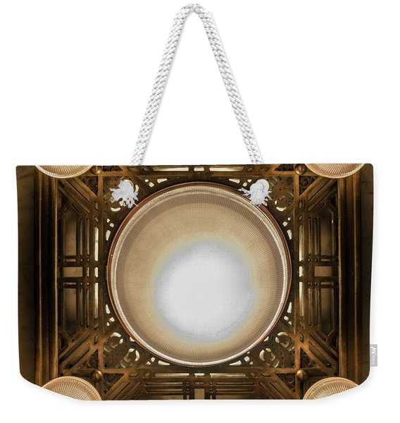 A Chandelier In The Rookery Weekender Tote Bag