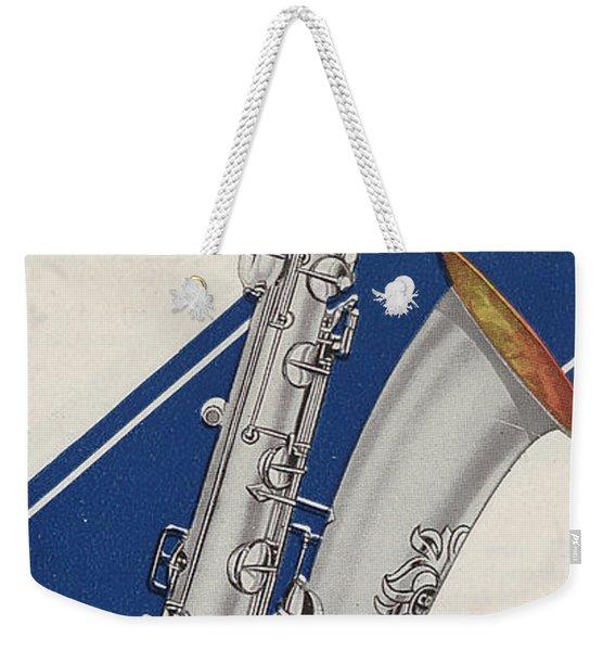 A Charles Gerard Conn Bb Bass Weekender Tote Bag