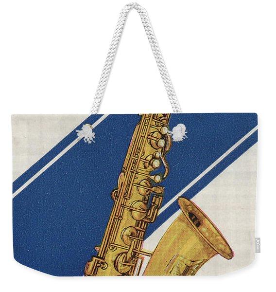 A Charles Gerard Conn C Melody Weekender Tote Bag