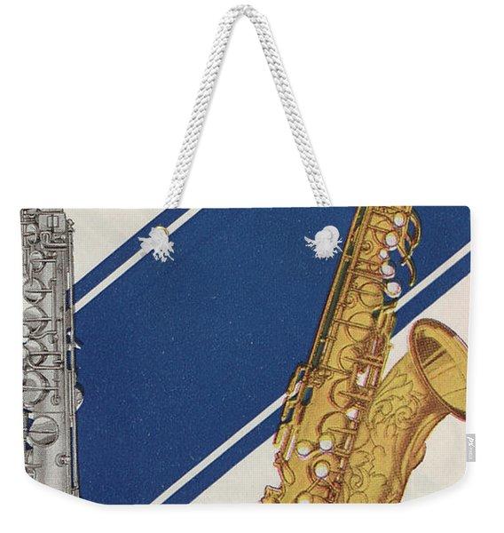 A Charles Gerard Conn F Mezzo-soprano Weekender Tote Bag