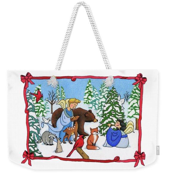 A Christmas Scene 2 Weekender Tote Bag
