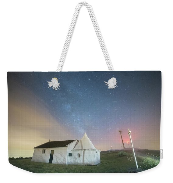 A Church In Fafe Weekender Tote Bag