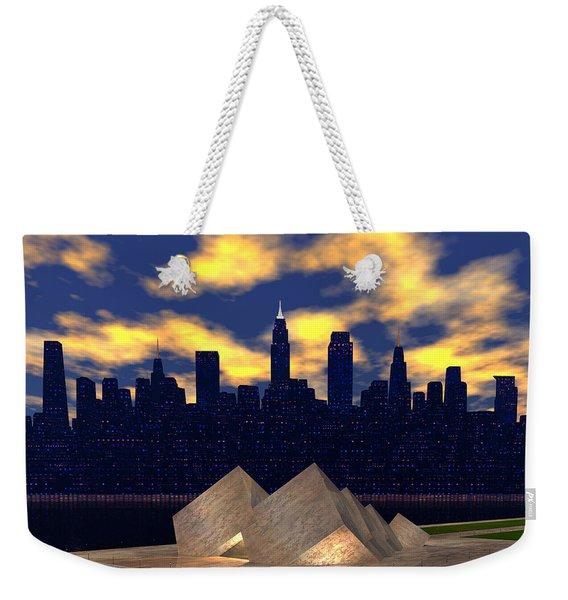 A City's Cultural Jewel 2 Weekender Tote Bag