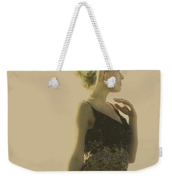 A Classical Beauty Portrait Weekender Tote Bag