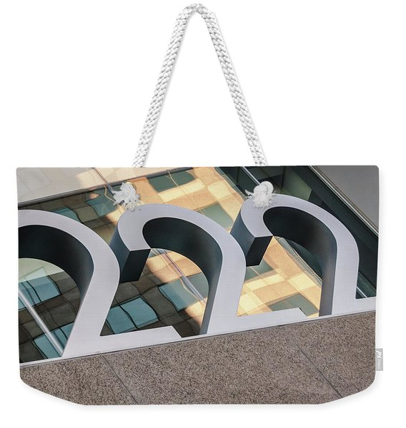A Close Second - Architectural  Weekender Tote Bag