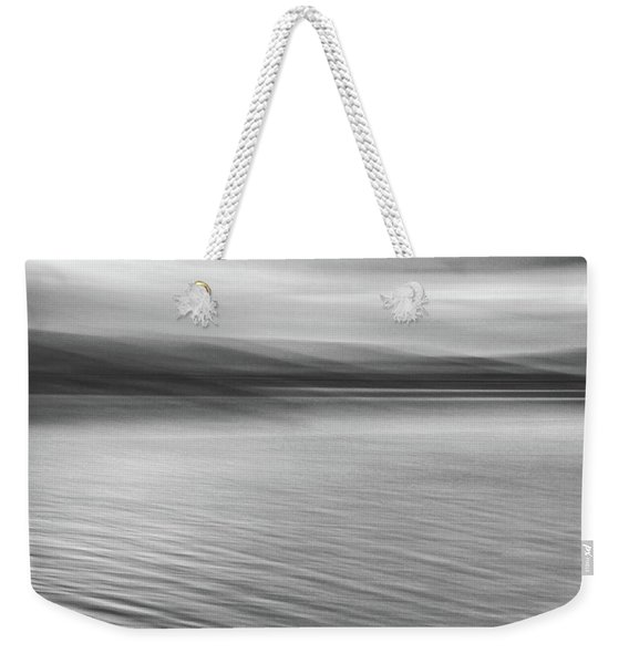 A Cold Morning Weekender Tote Bag