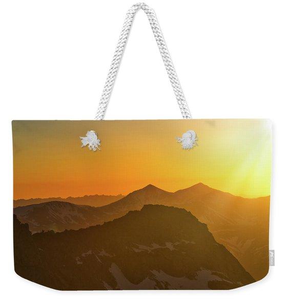 A Colorado Ending Weekender Tote Bag