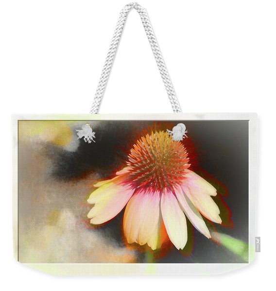 A Colorful Coneflower With Bokeh Weekender Tote Bag