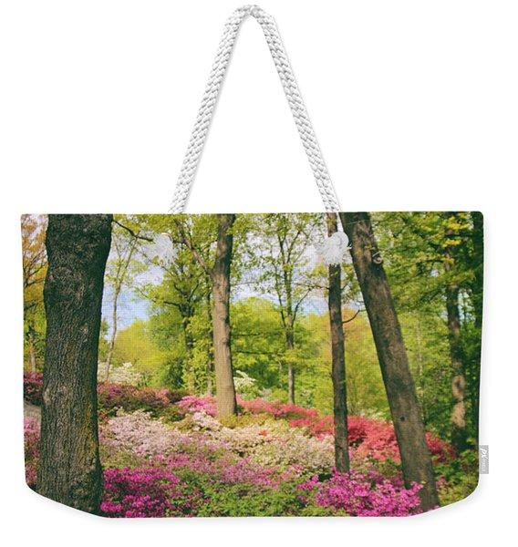 A Colorful Hillside Weekender Tote Bag