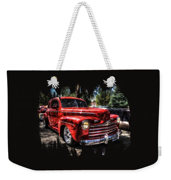 A Cool 46 Ford Coupe Weekender Tote Bag