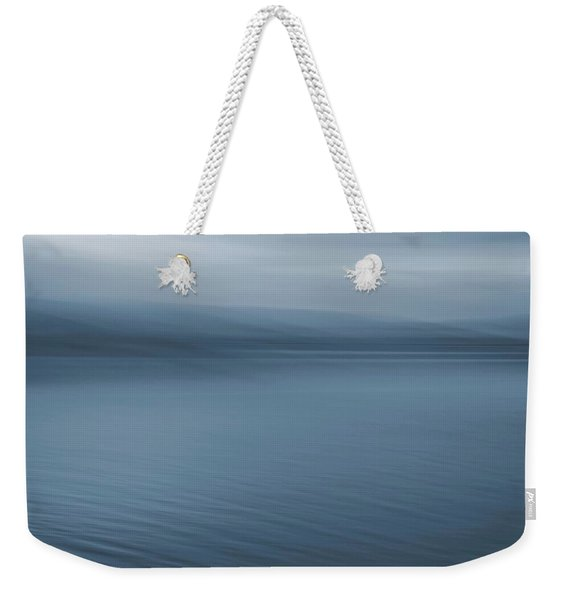 A Cool October Morning Weekender Tote Bag