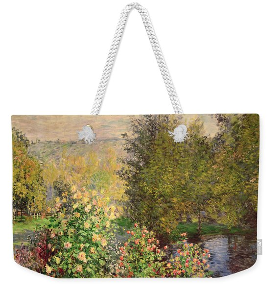 A Corner Of The Garden At Montgeron Weekender Tote Bag