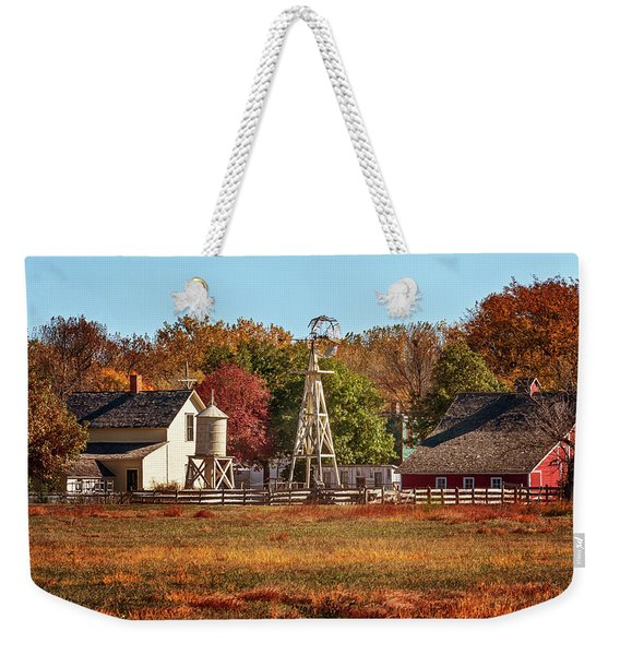 A Country Autumn Weekender Tote Bag