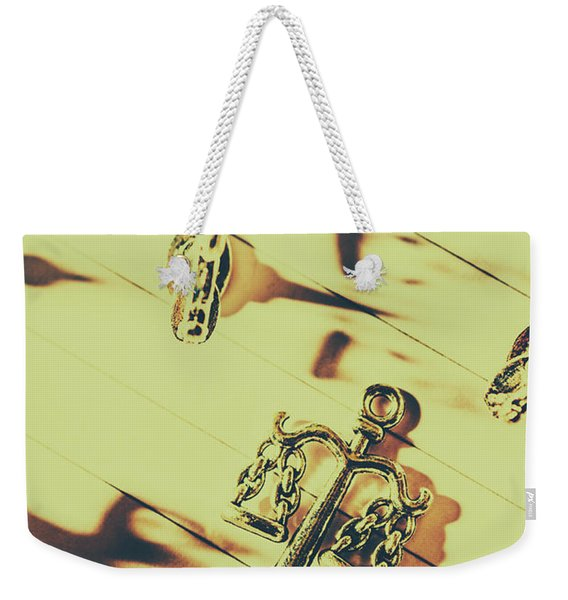 A Courthouse Judgement Weekender Tote Bag
