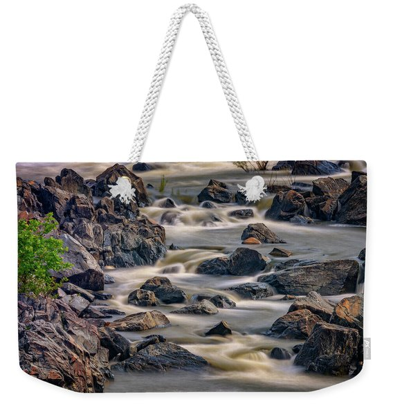 A Creek To The Side Weekender Tote Bag