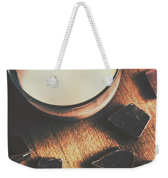 A Dairy Combination Weekender Tote Bag