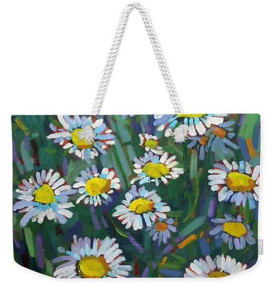 A Daisy A Day Weekender Tote Bag
