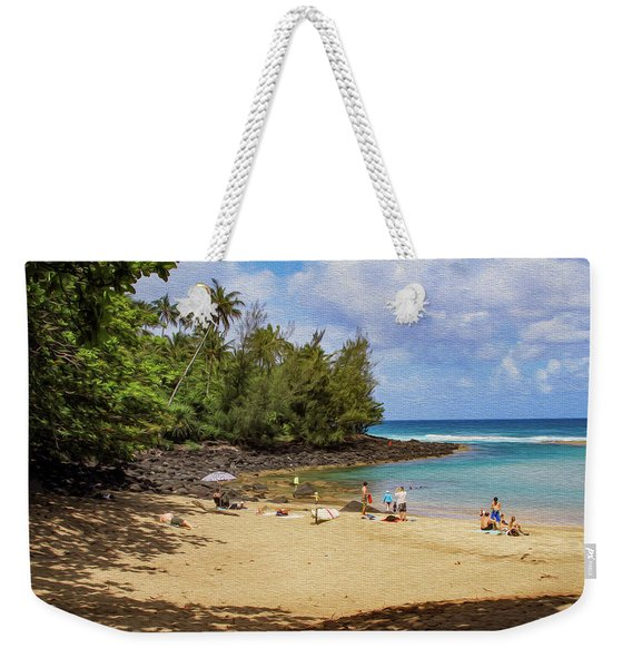 A Day At Ke'e Beach Weekender Tote Bag
