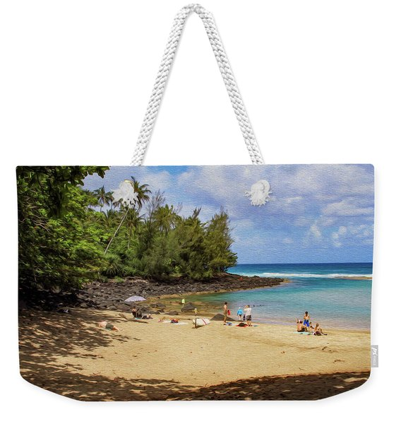 A Day At Ke'e Beach Weekender Tote Bag