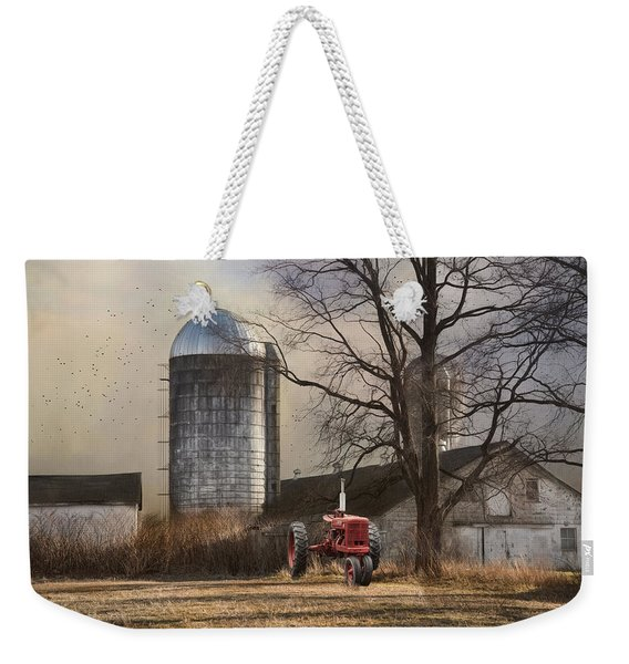 A Day Off Weekender Tote Bag