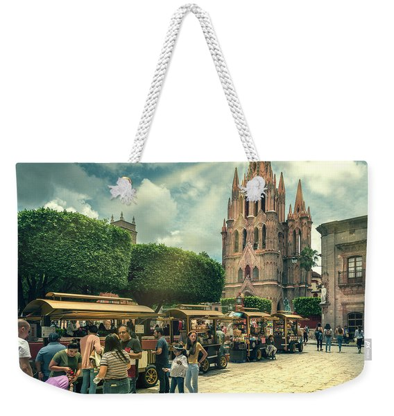 A Day With The Family Weekender Tote Bag