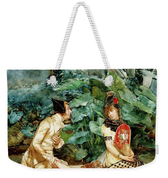 A Declaration Of Love Weekender Tote Bag