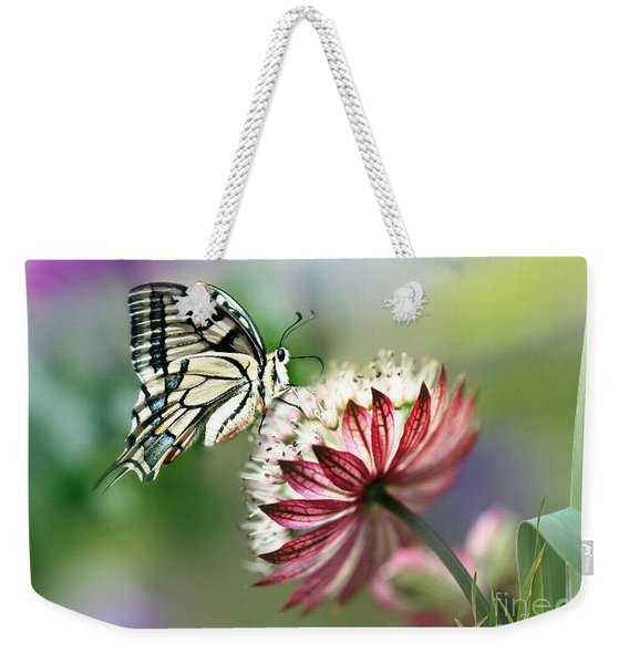 A Delicate Touch Weekender Tote Bag