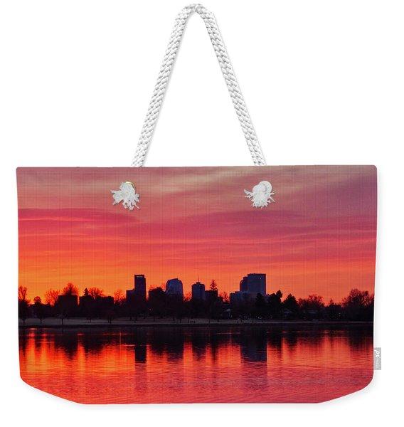 A Denver Morning Weekender Tote Bag