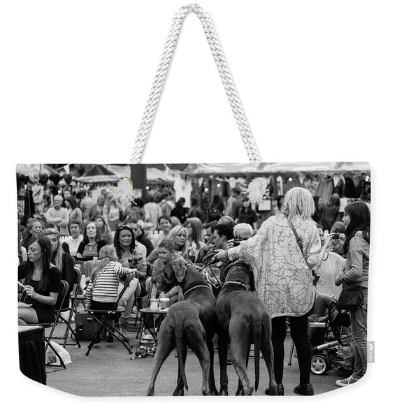 A Dogs Life Weekender Tote Bag