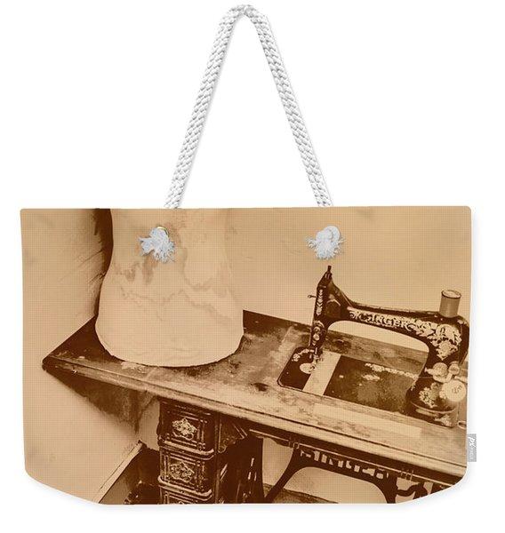 A Dressmakers Corner Weekender Tote Bag