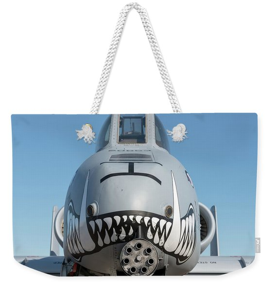 A Face Only Ground Troops Can Love - 2017 Christopher Buff, Www.aviationbuff.com Weekender Tote Bag