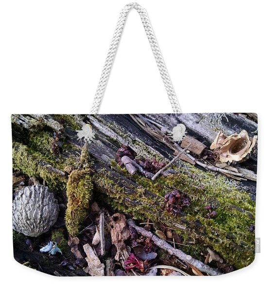 A Familiar Place Weekender Tote Bag