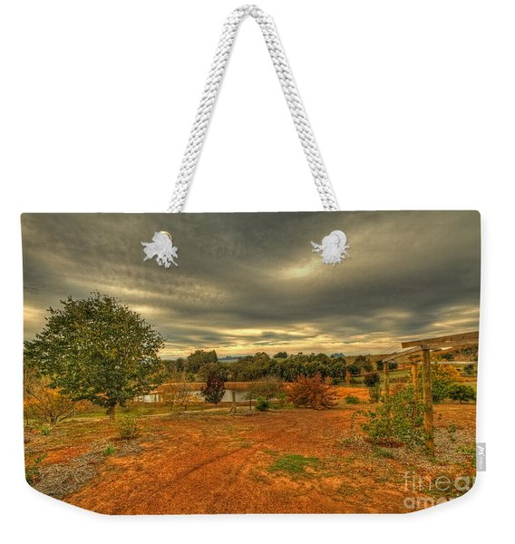 A Farm In Bridgetown, Western Australia Weekender Tote Bag