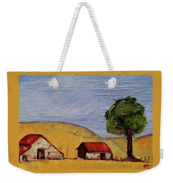 A Farm In California Winecountry Weekender Tote Bag