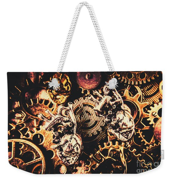 A Fiction In Machine Love Weekender Tote Bag