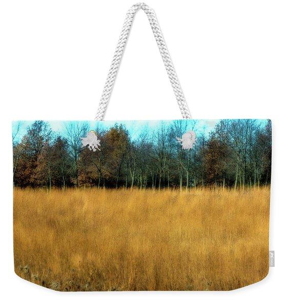 A Field Of Browns Weekender Tote Bag