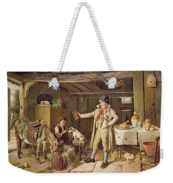 A Fine Attire Weekender Tote Bag
