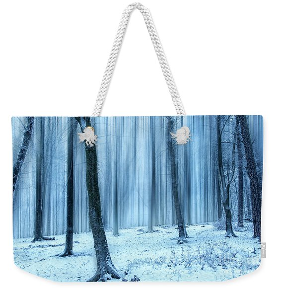 A Forest In Winter Weekender Tote Bag