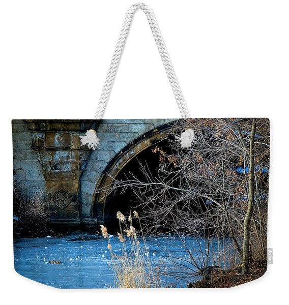 A Frozen Corner In Central Park Weekender Tote Bag