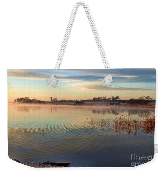 A Gentle Morning Weekender Tote Bag